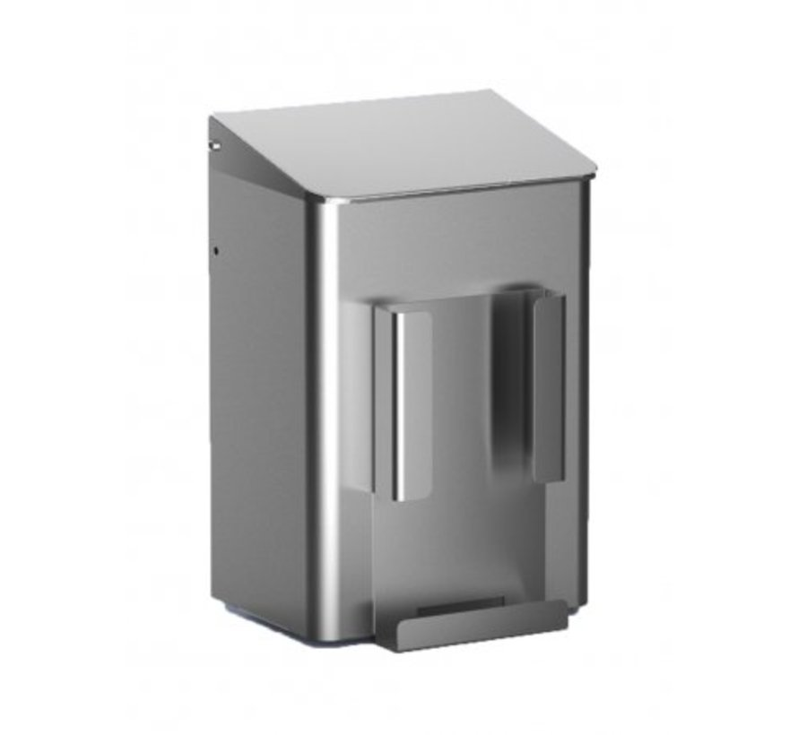 Hygienic tray 6 liter stainless steel