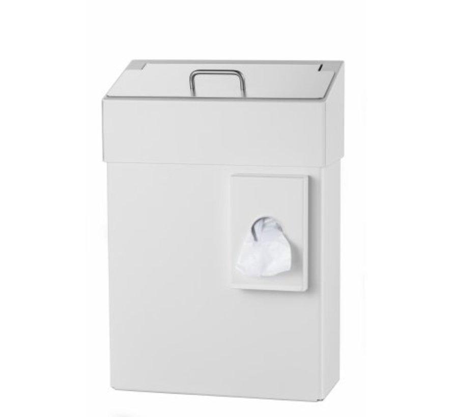 Plateau d'hygiène 10 litres blanc