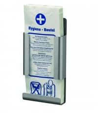 MediQo-line Hygiënezakjesdispenser aluminium