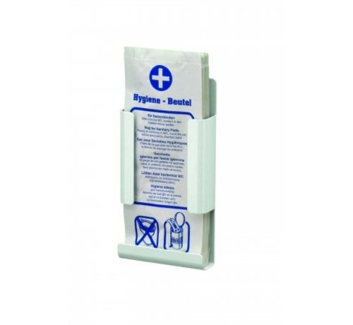 MediQo-line Hygiënezakjesdispenser wit