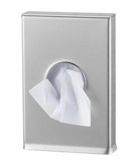 MediQo-line Hygiene bag dispenser stainless steel