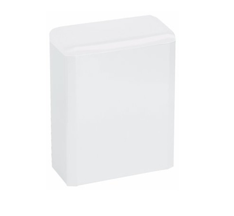 (Hygiène) conteneur 6 litres fermé blanc
