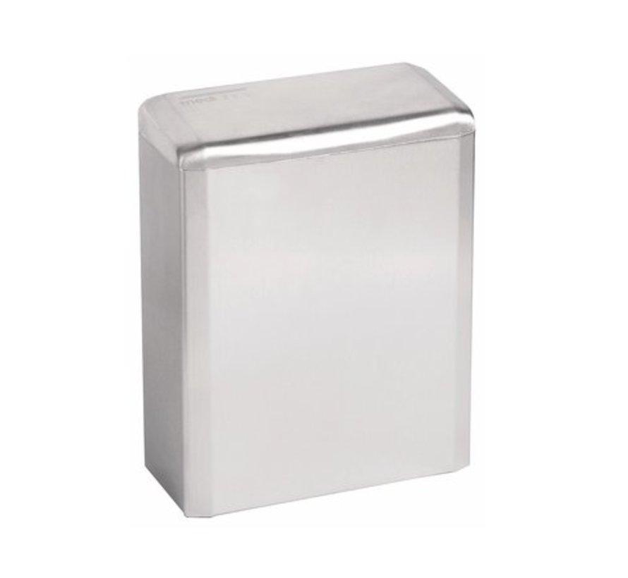 (Hygiëne)bak 6 liter gesloten hoogglans