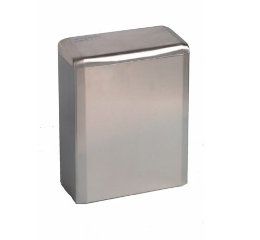 (Hygiene) bake 6 liters closed stainless steel