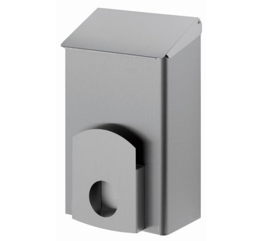 Plateau d'hygiène 7 litres en acier inoxydable