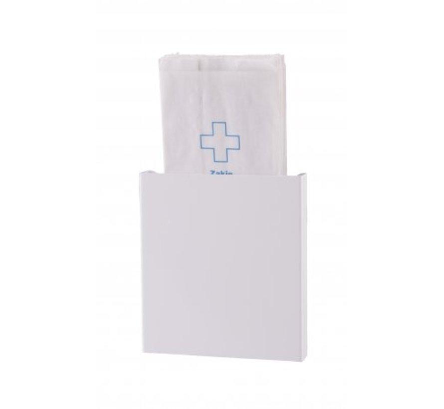 Hygiënezakjesdispenser wit