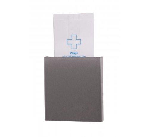 Dutch Bins Hygiene bag dispenser stainless steel