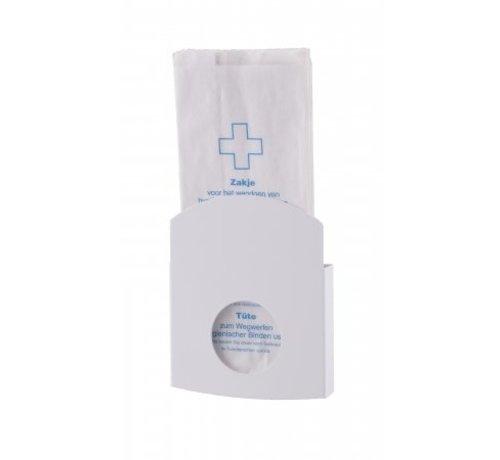 Dutch Bins Porte sac hygiénique blanc