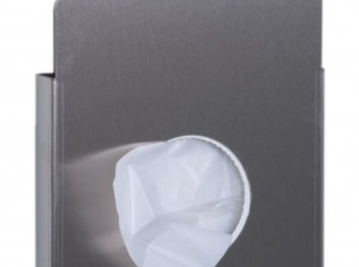 Dutch Bins Hygienic bag holder stainless steel
