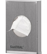 SanTRAL Hygiënezakjeshouder voor plastic hygiënezakjes