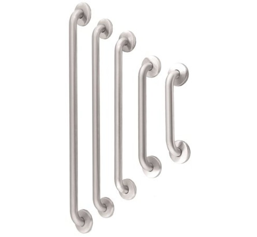 Grab bar stainless steel straight 387 mm