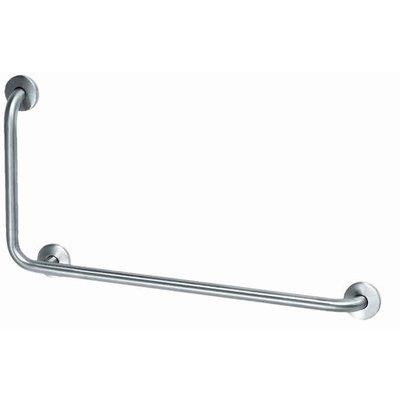 MediQo-line Grab bar stainless steel with 90? corner to the left