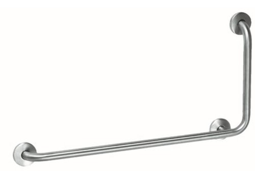 MediQo-line Grab bar stainless steel with 90? angle to the right