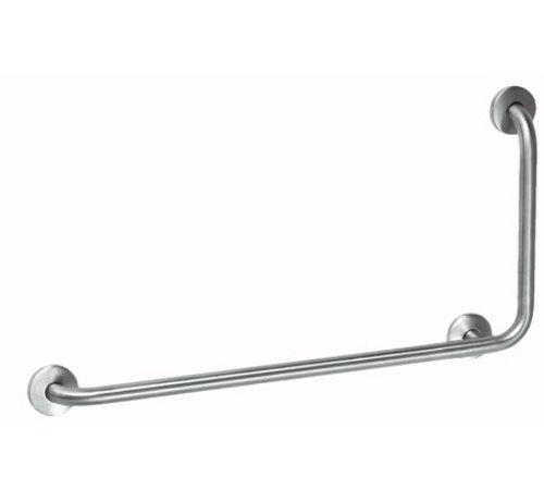 MediQo-line Barre d'appui en acier inoxydable avec 90?angle à droite