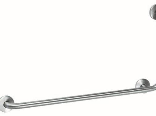 MediQo-line Grab bar RVS met 90? hoek naar rechts