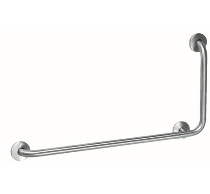 Barre d'appui en acier inoxydable avec 90?angle à droite