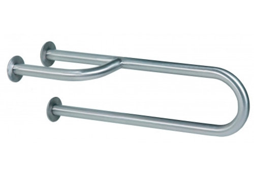 MediQo-line Wall handle stainless steel right
