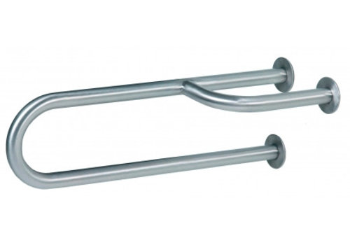 MediQo-line Wall handle stainless steel left
