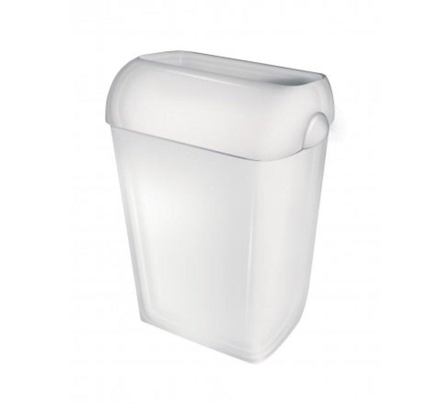 Plastic waste box 23 liters open