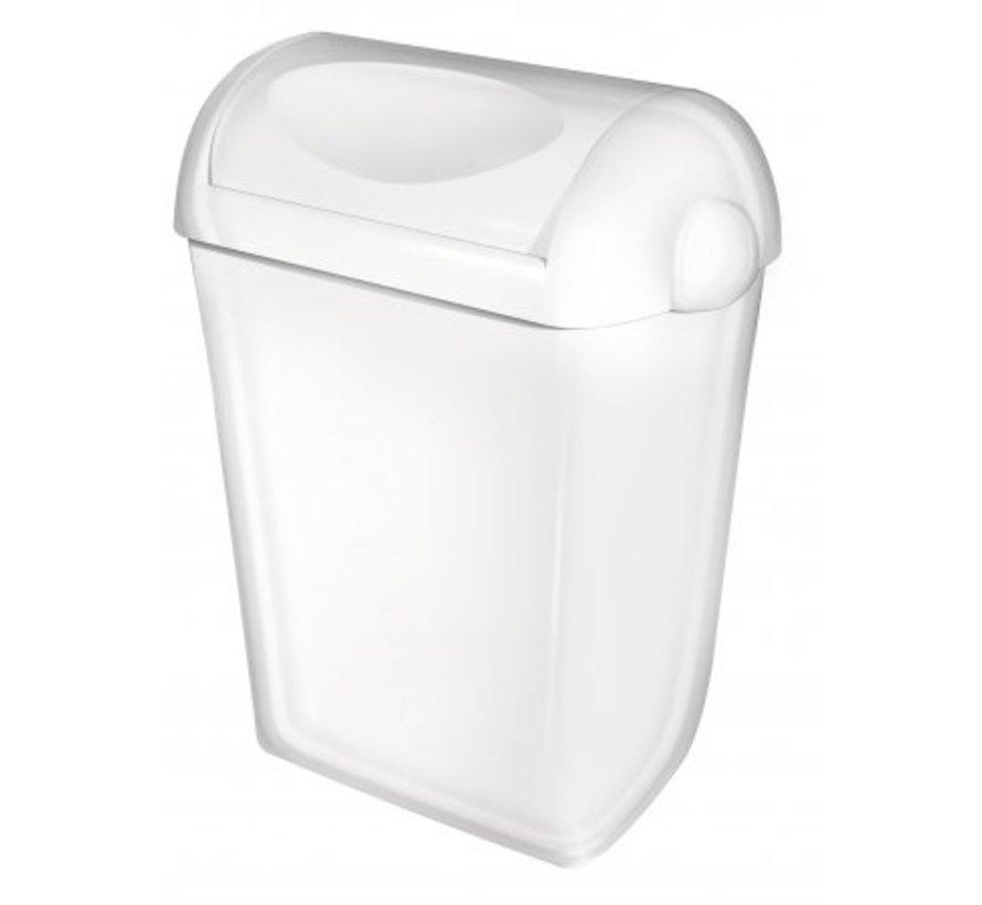 Poubelle en plastique balançoire 43 litres
