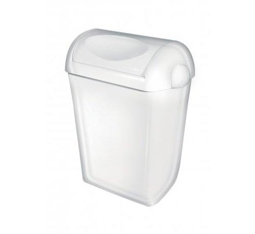 PlastiQline  Afvalbak kunststof 23 liter swing