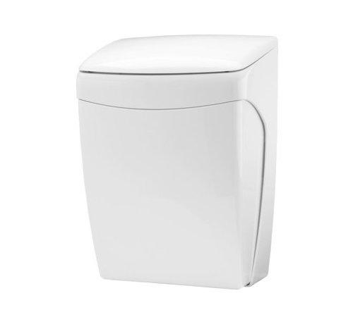 PlastiQline  Plastic waste bin with knee operation 20 liters