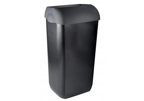 PlastiQline Exclusive Waste bin half open 23 liters