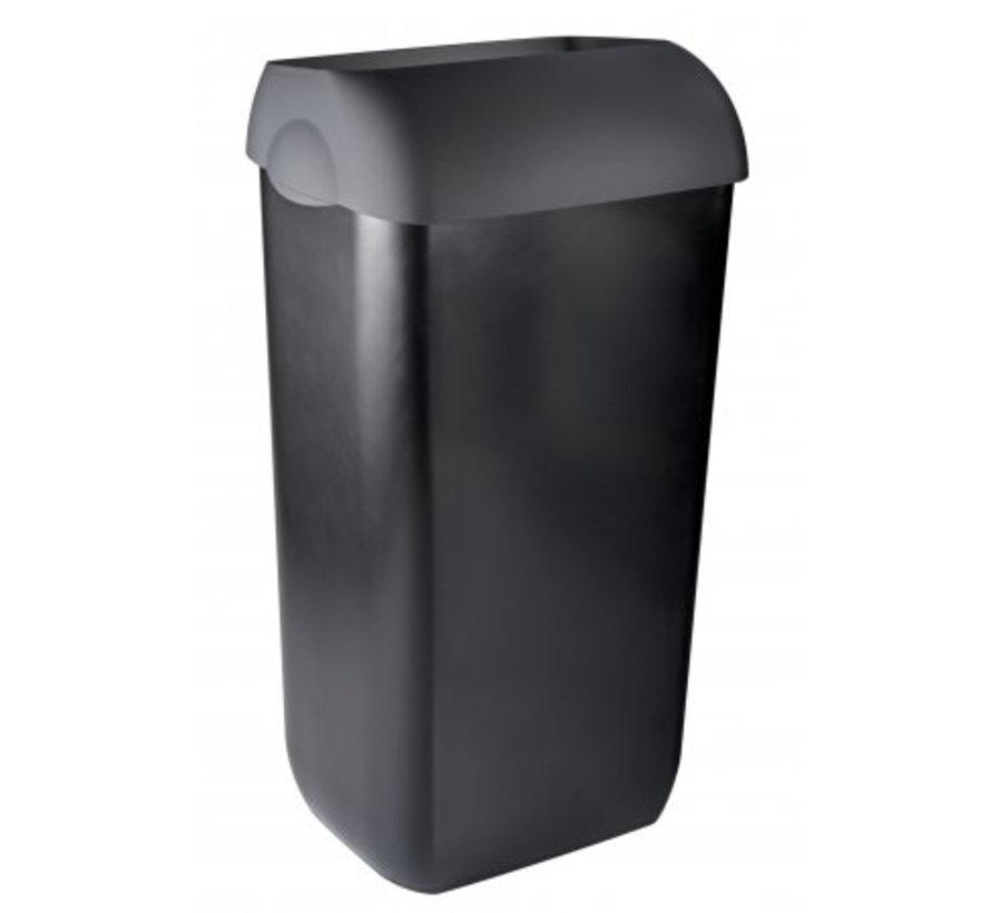 Afvalbak half open 23 liter