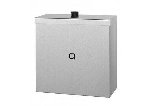 Qbic-line Waste bin closed 9 liters
