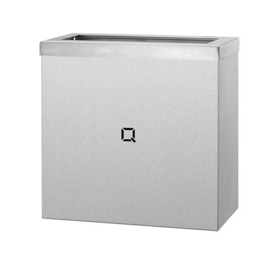 Waste bin open 9 liters