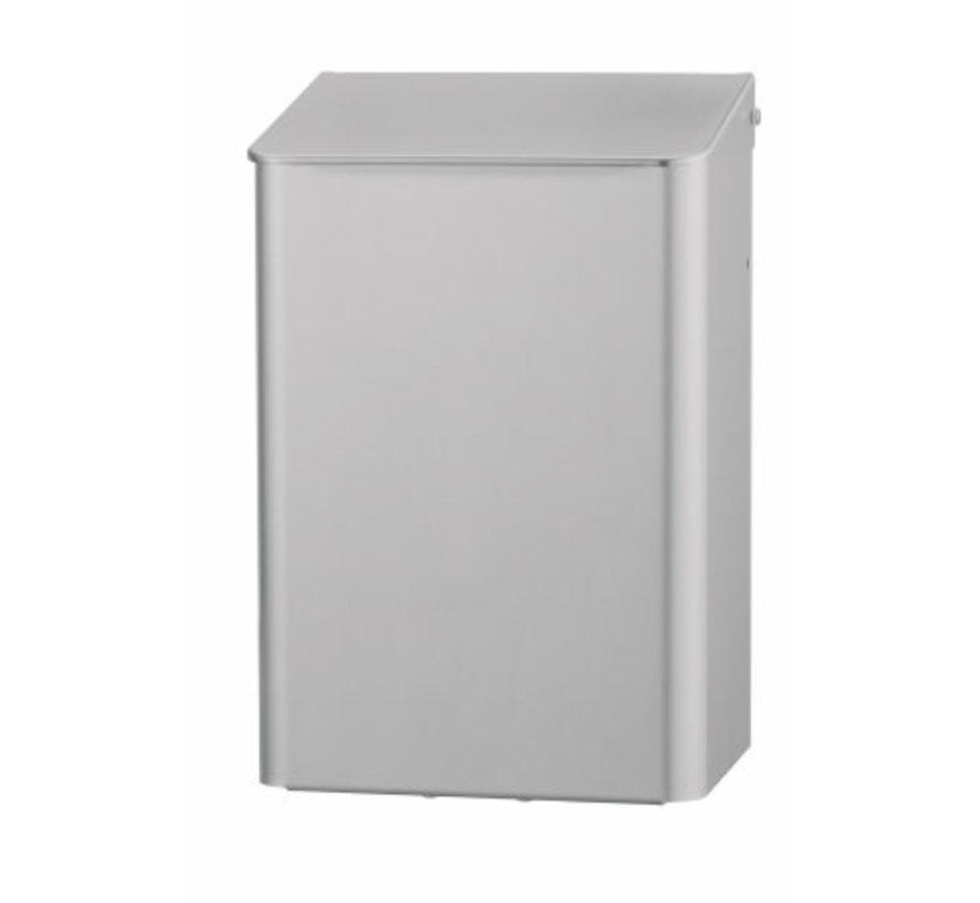 Waste bin 6 liters aluminum