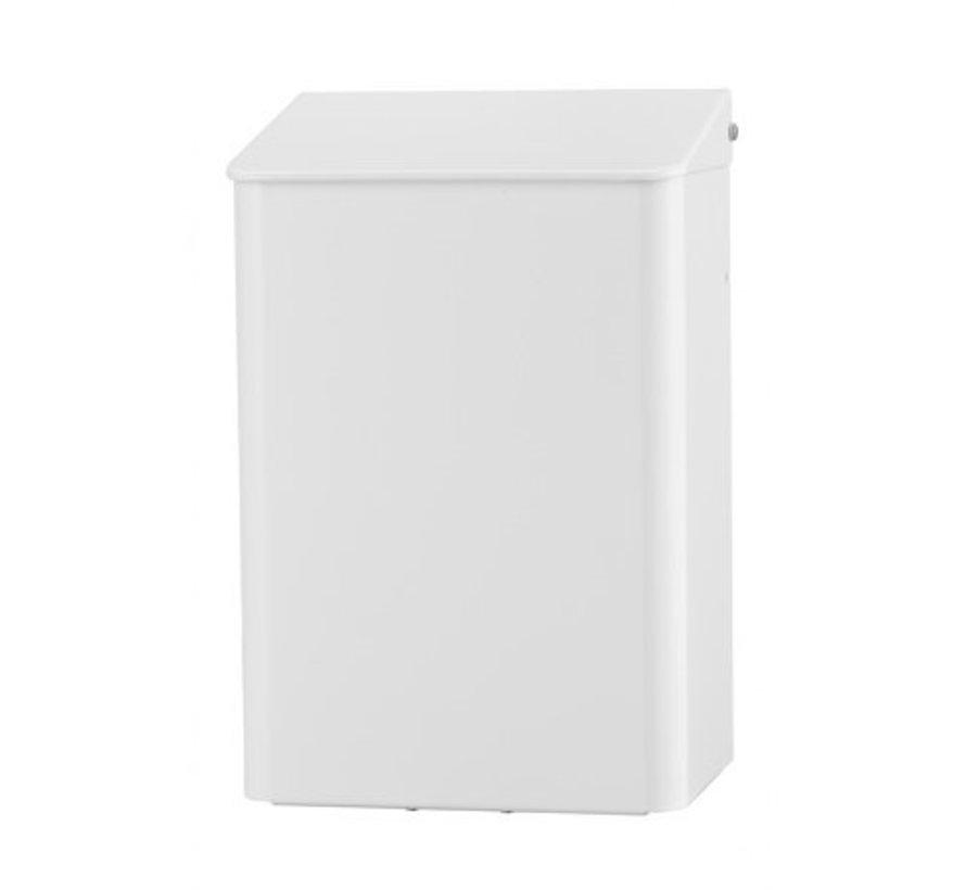 Afvalbak 6 liter wit