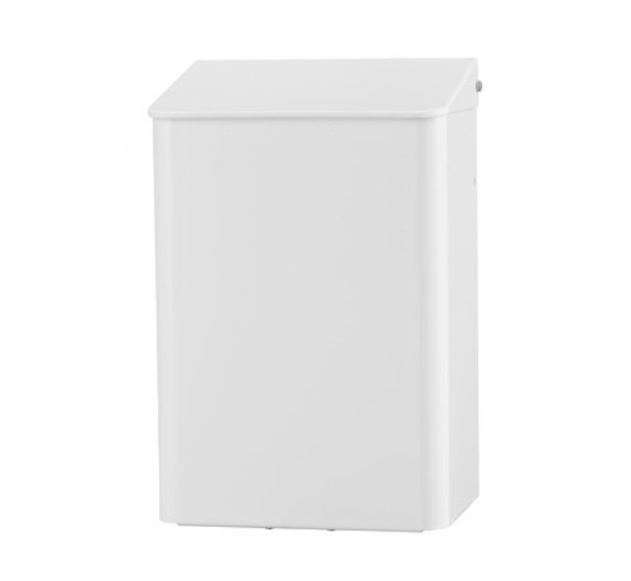 Waste bin 6 liters white