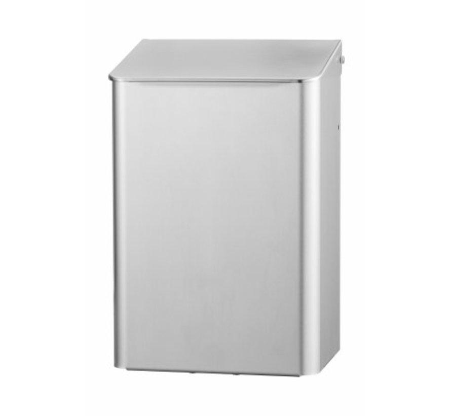 Afvalbak 6 liter RVS