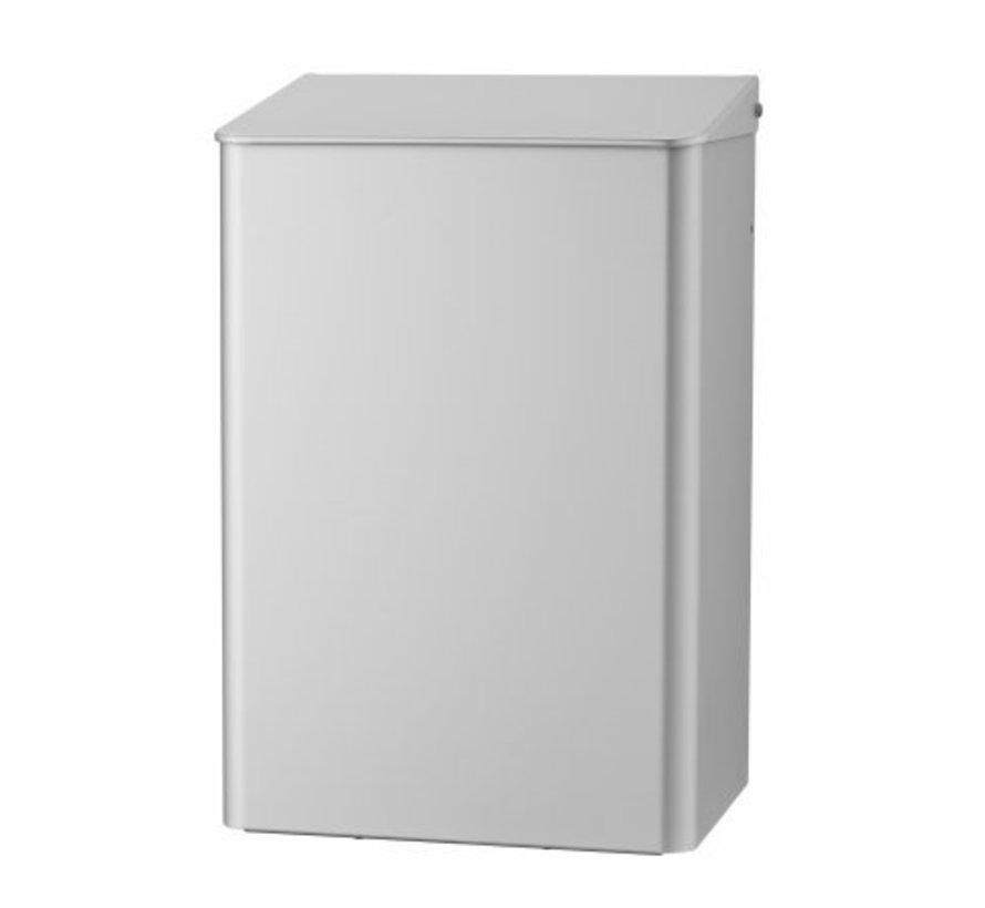 Poubelle 15 litres en aluminium