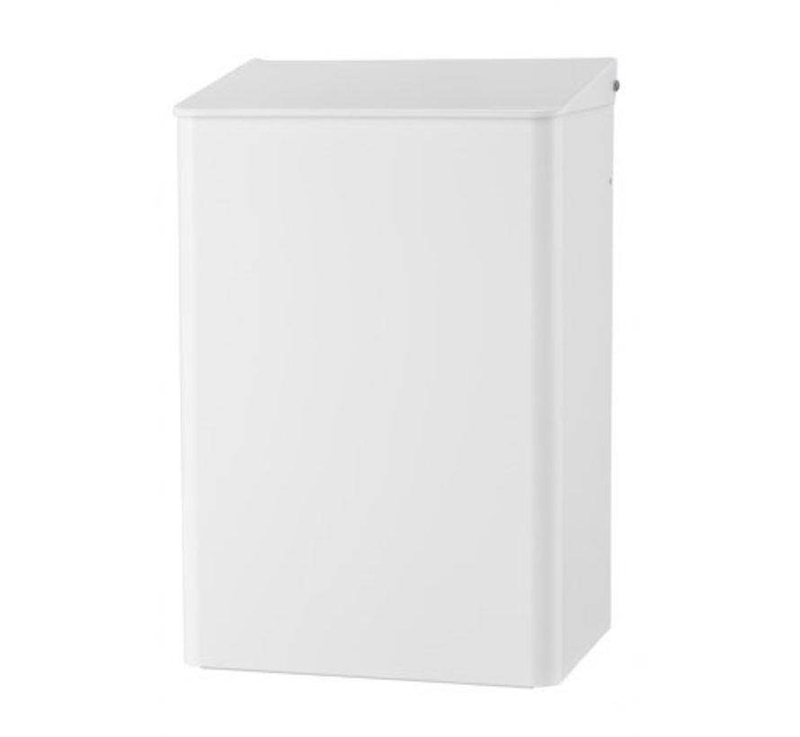 Waste bin 15 liters white