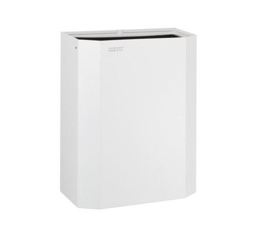 Mediclinics Waste bin open 25 liters white