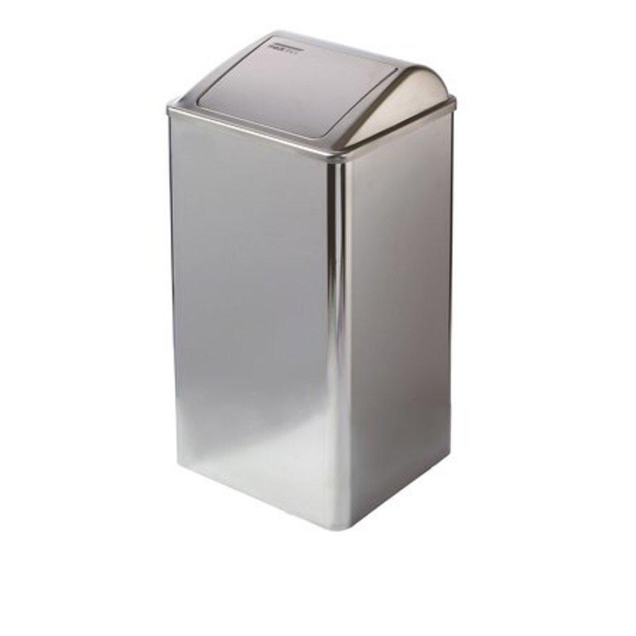 Waste bin closed 65 liters high gloss-1