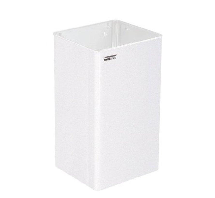 Waste bin open 65 liters white