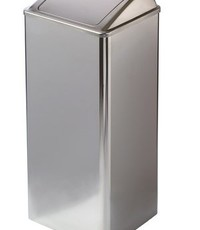 Mediclinics Waste bin closed 80 liters high gloss