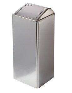Mediclinics Afvalbak gesloten 80 liter hoogglans