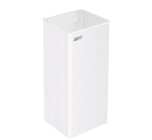 Mediclinics Poubelle ouverte 80 litres blanc