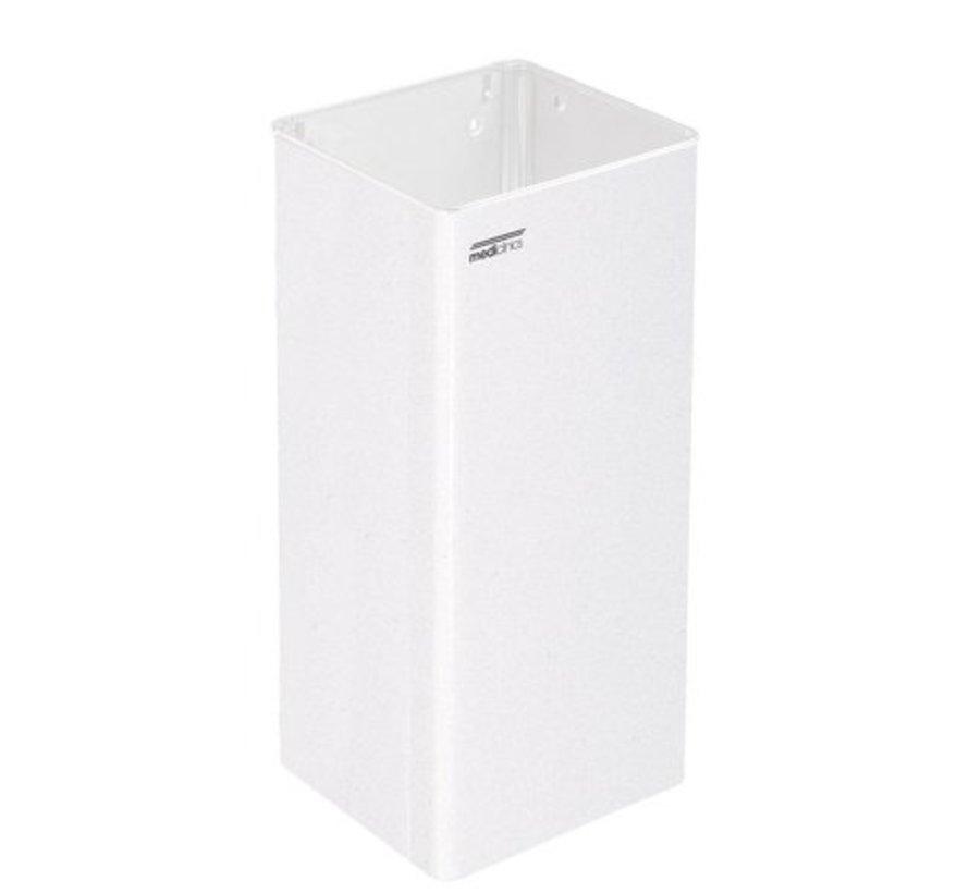 Afvalbak open 80 liter wit