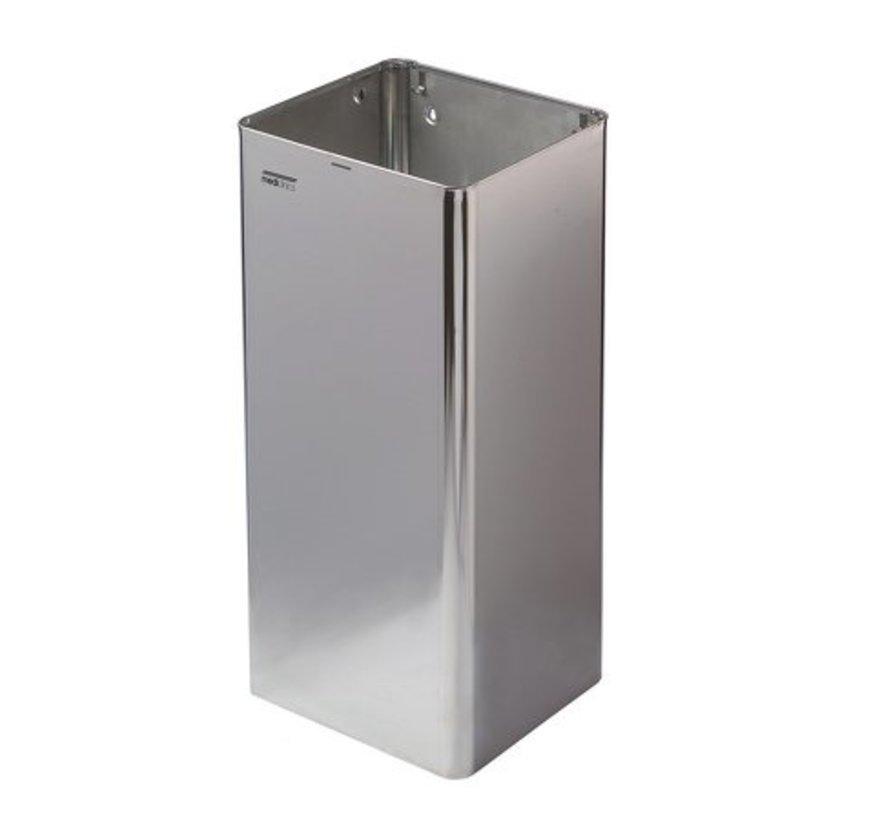 Afvalbak open 80 liter hoogglans