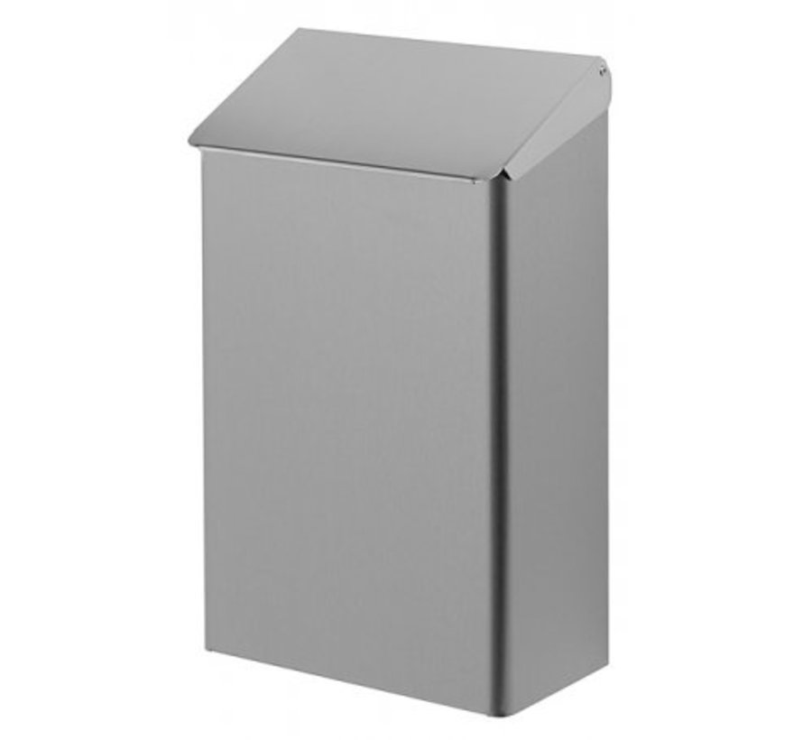 Waste bin 7 liters stainless steel