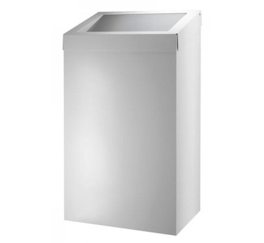 Waste bin 50 liters white