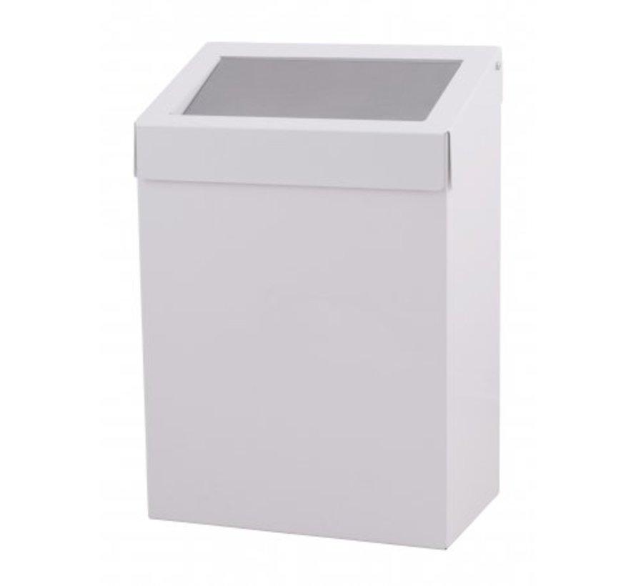 Waste bin 20 liters white