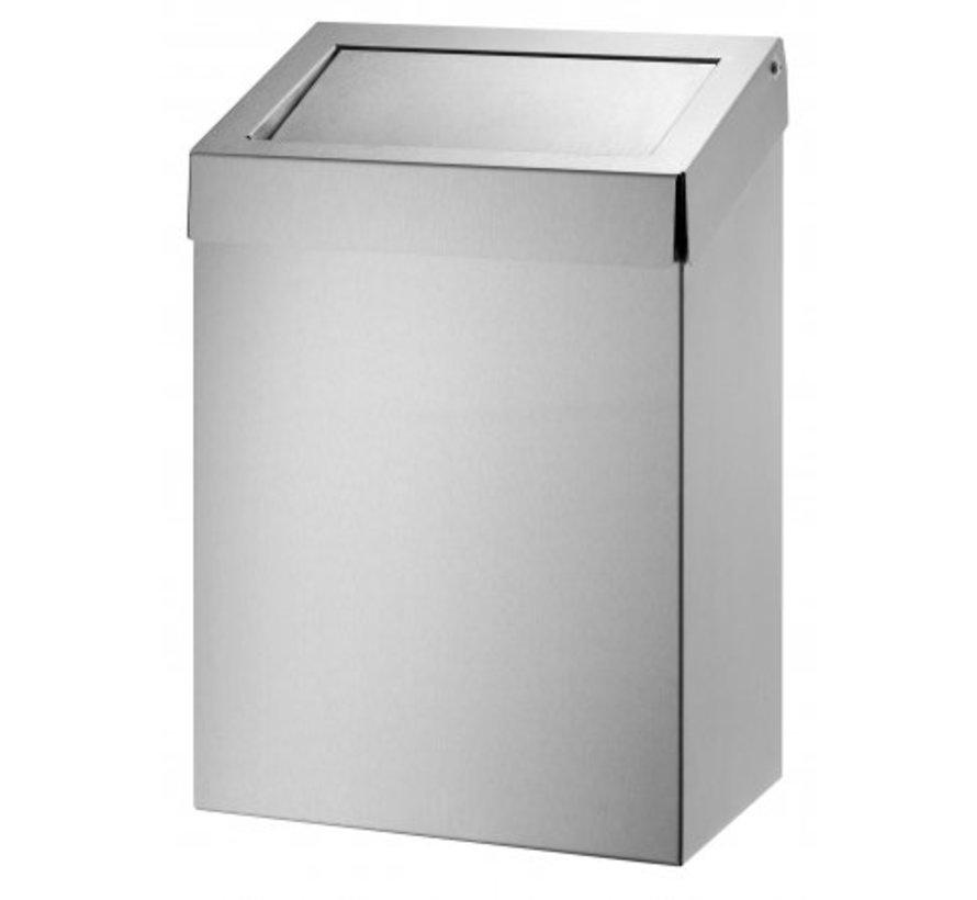 Waste bin 20 liters stainless steel