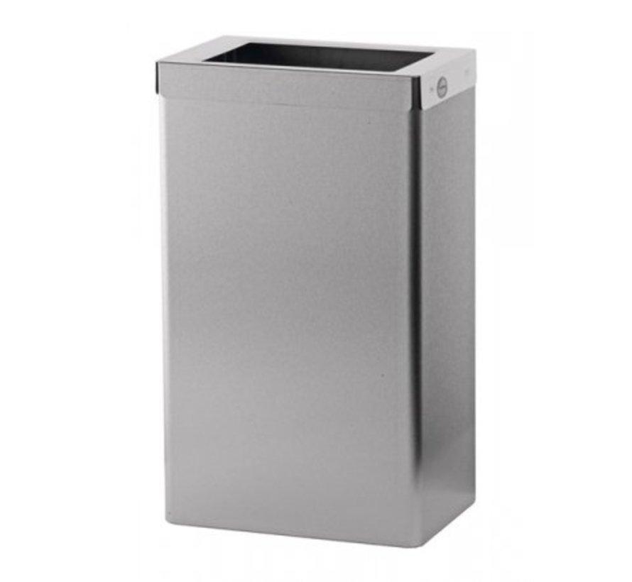 Waste bin open 22 liters