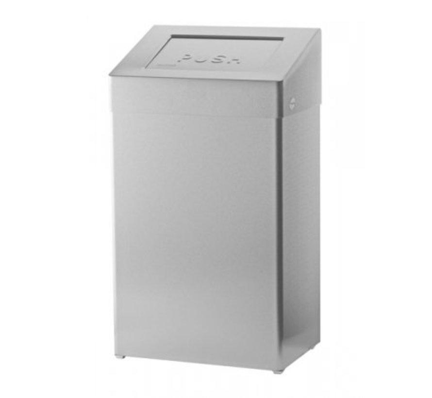 Afvalbak gesloten 50 liter